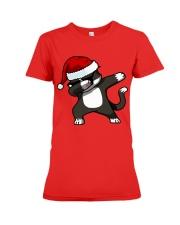 Gift Christmas Cat T-shirt Premium Fit Ladies Tee thumbnail