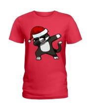 Gift Christmas Cat T-shirt Ladies T-Shirt thumbnail