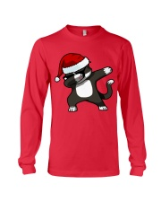 Gift Christmas Cat T-shirt Long Sleeve Tee thumbnail