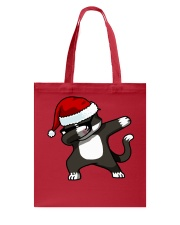 Gift Christmas Cat T-shirt Tote Bag thumbnail