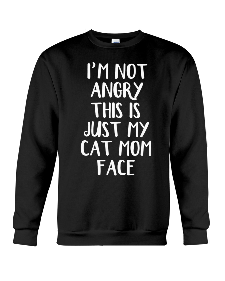 Cat Mom Crewneck Sweatshirt