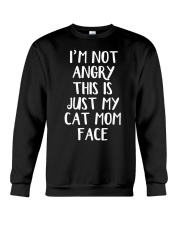 Cat Mom Crewneck Sweatshirt front