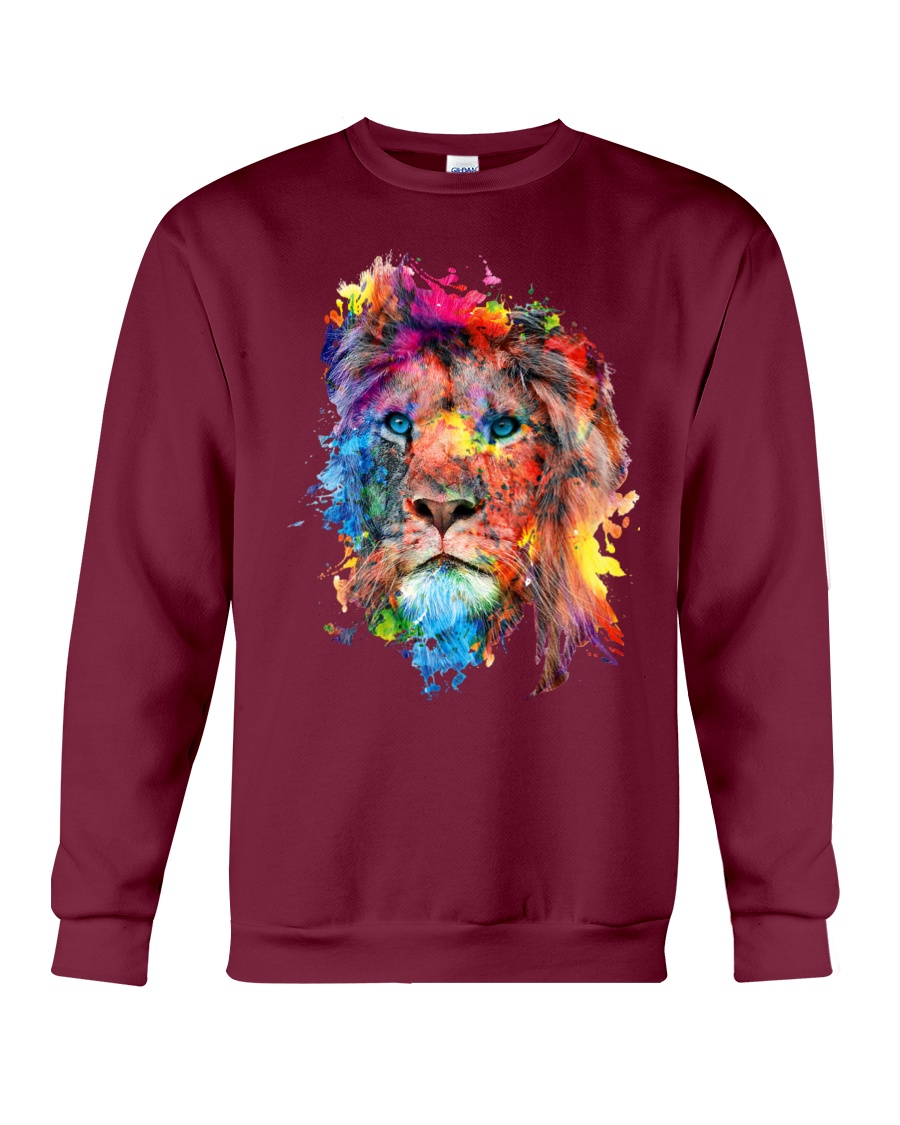 Lion Summer Crewneck Sweatshirt