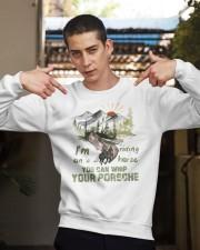 I'm Riding On A Horse Crewneck Sweatshirt apparel-crewneck-sweatshirt-lifestyle-04