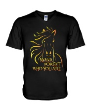 Who You Are V-Neck T-Shirt thumbnail