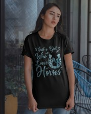 Just A Girl Who Loves Horses Classic T-Shirt apparel-classic-tshirt-lifestyle-08
