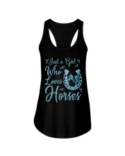 Just A Girl Who Loves Horses Ladies Flowy Tank thumbnail