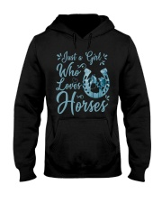 Just A Girl Who Loves Horses Hooded Sweatshirt tile