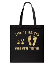 HR-L-MH-0402202-Life Is Better When Were Together Tote Bag thumbnail