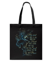My Mind Still Talks To You Tote Bag thumbnail