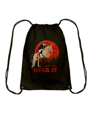 Just Get Over It Drawstring Bag thumbnail