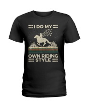 I Do My Own Riding Style Ladies T-Shirt tile