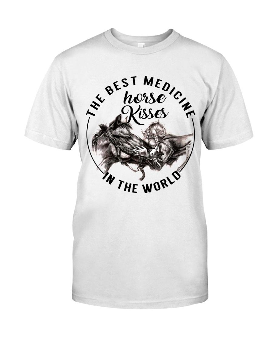 Horse Kisses Classic T-Shirt