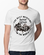 Horse Kisses Classic T-Shirt lifestyle-mens-crewneck-front-13