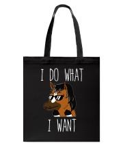 I Do What I Want Tote Bag thumbnail