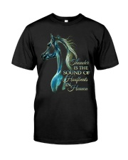 Thunder Is The Sound Classic T-Shirt front