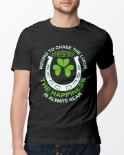 The Happiness Is Always Near Classic T-Shirt lifestyle-mens-crewneck-front-13