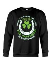 The Happiness Is Always Near Crewneck Sweatshirt thumbnail