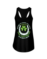 The Happiness Is Always Near Ladies Flowy Tank thumbnail