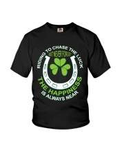 The Happiness Is Always Near Youth T-Shirt thumbnail