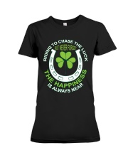 The Happiness Is Always Near Premium Fit Ladies Tee thumbnail