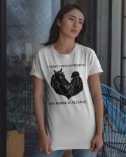I Do Not Have Boyfriend Classic T-Shirt apparel-classic-tshirt-lifestyle-08