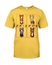 Horse Friends Classic T-Shirt front