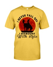 I Never Fall Off Classic T-Shirt front