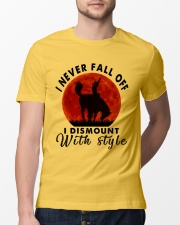I Never Fall Off Classic T-Shirt lifestyle-mens-crewneck-front-13