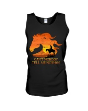 Can't Nobody Tell Me Nothing Unisex Tank thumbnail