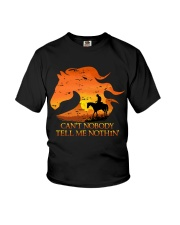 Can't Nobody Tell Me Nothing Youth T-Shirt thumbnail