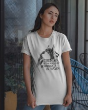 Thunder Is The Sound Of Hoofbeats Classic T-Shirt apparel-classic-tshirt-lifestyle-08