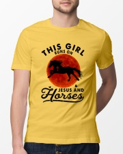 Jesus And Horses Classic T-Shirt lifestyle-mens-crewneck-front-13