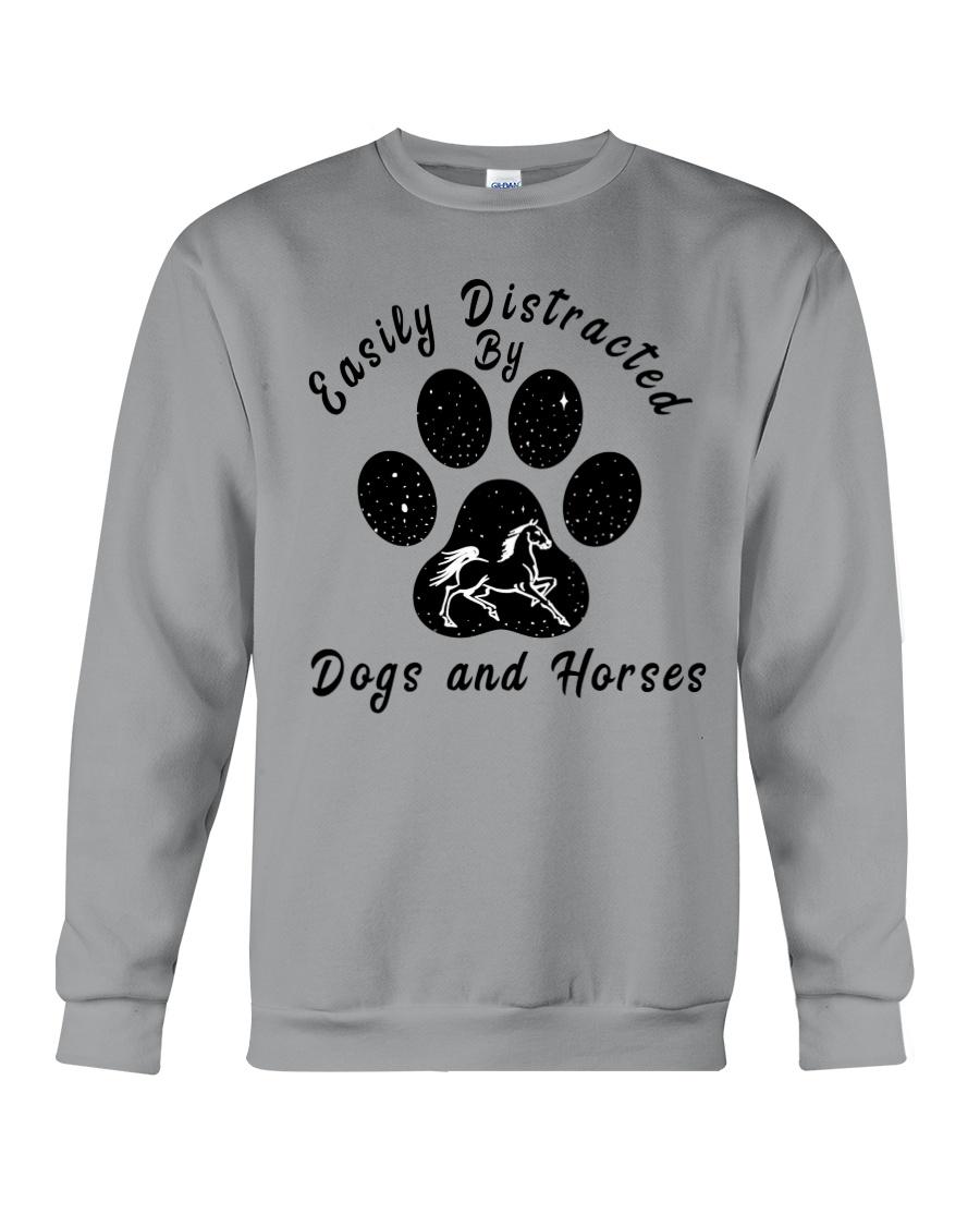 Dogs And Horses Crewneck Sweatshirt