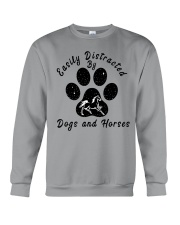 Dogs And Horses Crewneck Sweatshirt front
