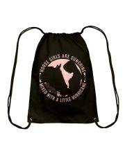 Horse Girls Are Sunshine Drawstring Bag thumbnail