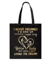 I Am Living The Dream Tote Bag thumbnail