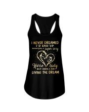 I Am Living The Dream Ladies Flowy Tank thumbnail