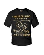 I Am Living The Dream Youth T-Shirt thumbnail