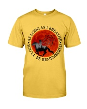 As Long As I Breathe Classic T-Shirt front