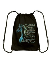 I Will Dance In Your Dreams Drawstring Bag thumbnail