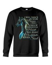 I Will Dance In Your Dreams Crewneck Sweatshirt thumbnail