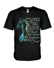 I Will Dance In Your Dreams V-Neck T-Shirt thumbnail