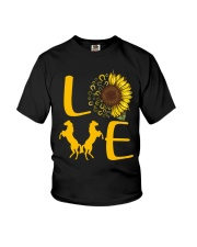 Love Horses Youth T-Shirt tile