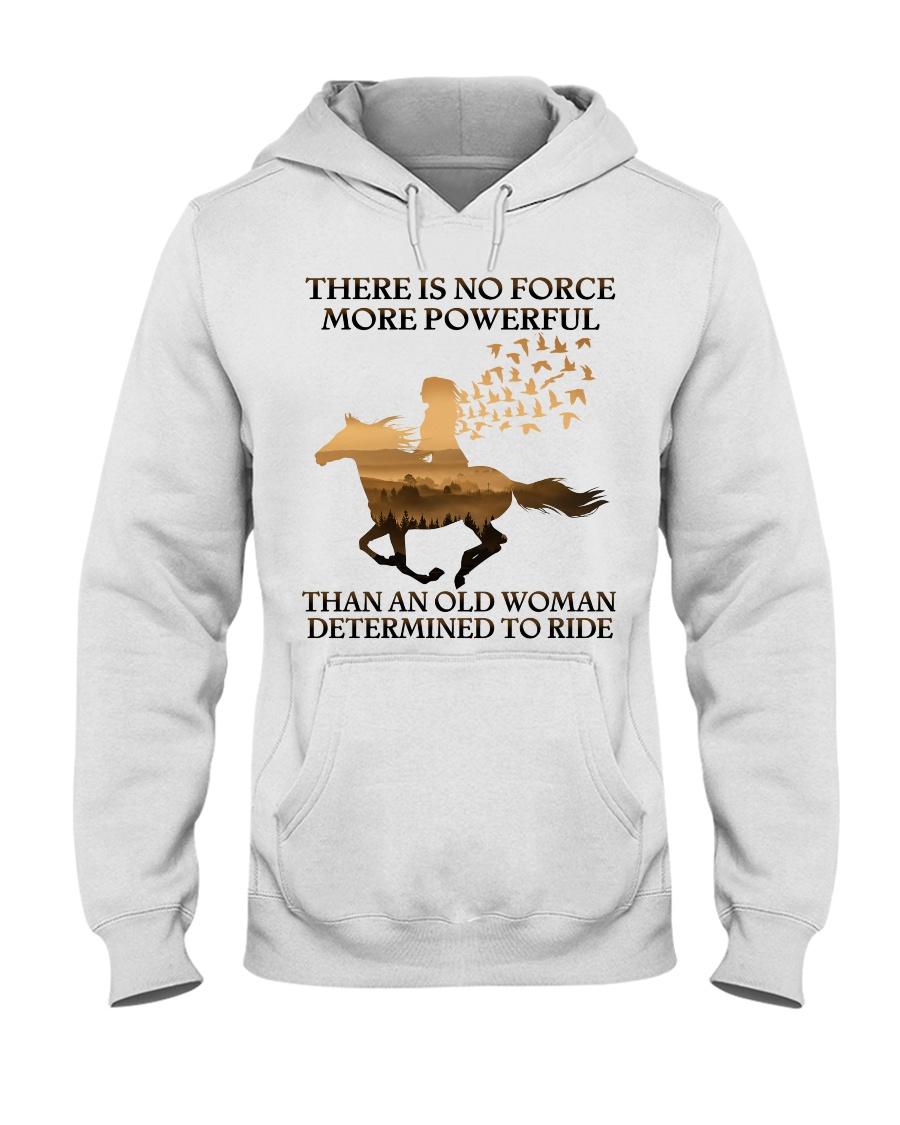An Old Woman Hooded Sweatshirt