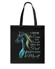 I Ride Tote Bag thumbnail