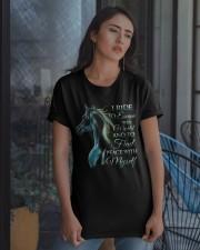 I Ride Classic T-Shirt apparel-classic-tshirt-lifestyle-08