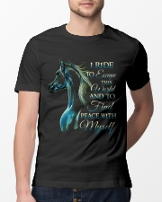 I Ride Classic T-Shirt lifestyle-mens-crewneck-front-13