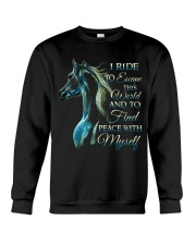 I Ride Crewneck Sweatshirt thumbnail