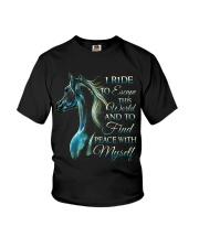 I Ride Youth T-Shirt thumbnail